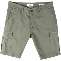 textil Hombre Shorts / Bermudas Sei3sei PZV130 8157 Verde
