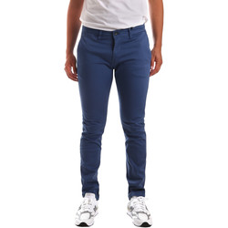 textil Hombre Pantalones chinos Gaudi 911BU25007 Azul