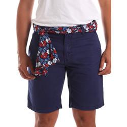 textil Hombre Shorts / Bermudas Gaudi 911BU25032 Azul