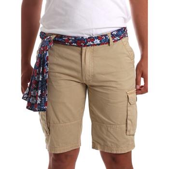 textil Hombre Shorts / Bermudas Gaudi 911BU25034 Beige