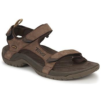 Zapatos Hombre Sandalias de deporte Teva TANZA Marrón