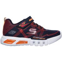 Zapatos Niños Zapatillas bajas Skechers 90542N Azul