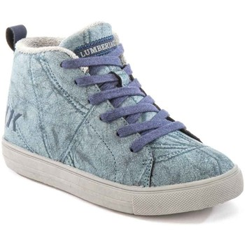 Zapatos Niños Zapatillas altas Lumberjack SB32705 003 M64 Azul