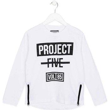 textil Niños Camisetas manga larga Losan 723 1010AA Blanco