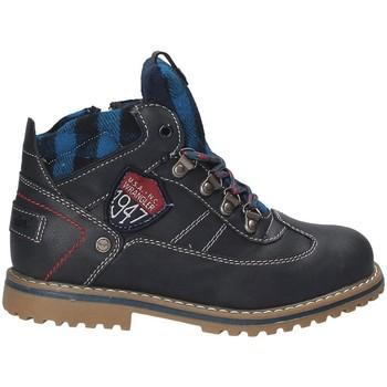 Zapatos Niños Botas de caña baja Wrangler WJ17212 Azul