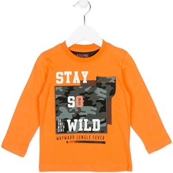 textil Niños Sudaderas Losan 725 1013AC Naranja