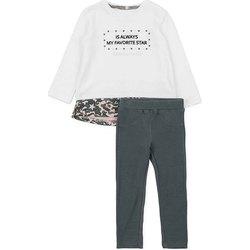 textil Niña Conjunto Losan 726 8036AD Blanco