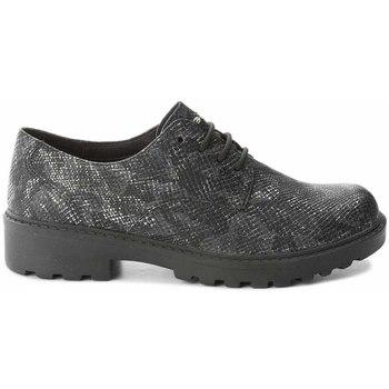 Zapatos Niños Derbie Geox J6420M 000AR Negro