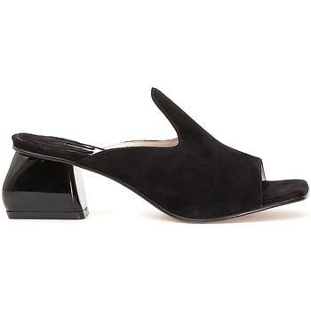 Zapatos Mujer Zuecos (Mules) Café Noir ME573 Negro