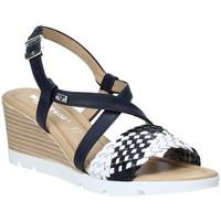 Zapatos Mujer Sandalias Valleverde 32305 Azul