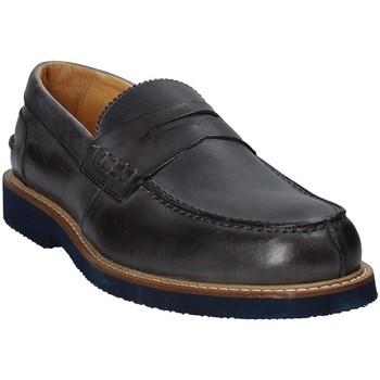 Zapatos Hombre Mocasín Exton 9102 Gris