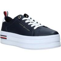 Zapatos Mujer Zapatillas bajas Tommy Hilfiger FW0FW04851 Azul