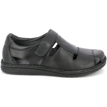 Zapatos Hombre Sandalias Grunland SA1515 Negro