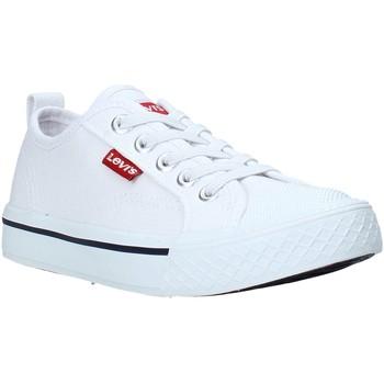 Zapatos Niños Zapatillas bajas Levi's VORI0005T Blanco