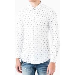 textil Hombre Camisas manga larga Antony Morato MMSL00425 FA430306 Blanco