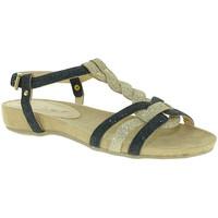 Zapatos Mujer Sandalias Mally 3828 Negro
