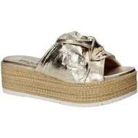 Zapatos Mujer Zuecos (Mules) Pregunta IL02402-CL Amarillo