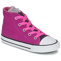 Zapatos Niña Zapatillas altas Converse ALL STAR PARTY HI Rosa