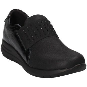 Zapatos Mujer Slip on Grunland SC3908 Negro