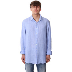 textil Hombre Camisas manga larga Calvin Klein Jeans K10K106018 Azul