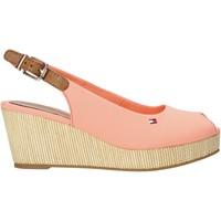 Zapatos Mujer Sandalias Tommy Hilfiger FW0FW04788 Rosado