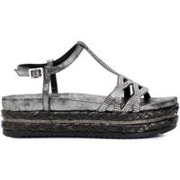 Zapatos Mujer Sandalias Café Noir HC913 Gris