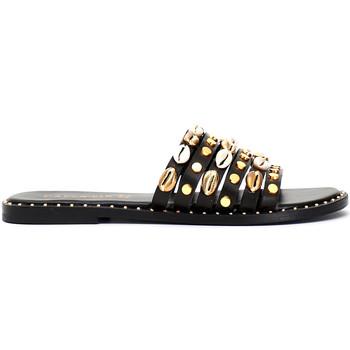 Zapatos Mujer Zuecos (Mules) Café Noir GB173 Negro