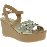 Zapatos Mujer Sandalias Mally 6237 Marrón