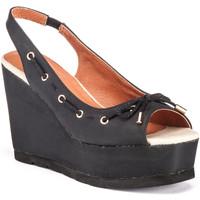 Zapatos Mujer Sandalias Lumberjack SW57906 002 C01 Negro