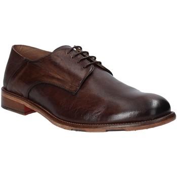 Zapatos Hombre Derbie Exton 3101 Marrón