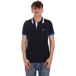textil Hombre Polos manga corta Gaudi 011BU64043 Azul