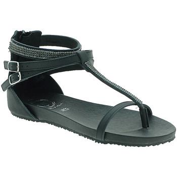Zapatos Mujer Sandalias 18+ 6110 Negro