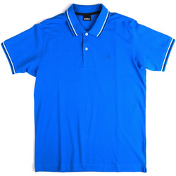 textil Hombre Polos manga corta Key Up 2Q70G 0001 Azul