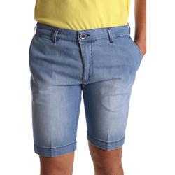 textil Hombre Shorts / Bermudas Sei3sei PZV132 7118 Azul