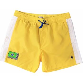 textil Hombre Bañadores U.S Polo Assn. 45282 41393 Amarillo
