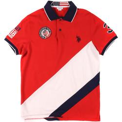 textil Hombre Polos manga corta U.S Polo Assn. 43771 41029 Rojo