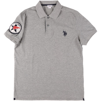 textil Hombre Polos manga corta U.S Polo Assn. 43767 41029 Gris