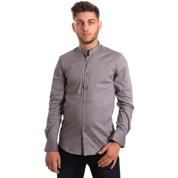 textil Hombre Camisas manga larga Antony Morato MMSL00376 FA450001 Gris
