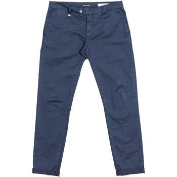 textil Hombre Pantalones chinos Antony Morato MMTR00387 FA800060 Azul