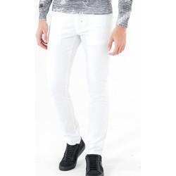 textil Hombre Pantalones con 5 bolsillos Antony Morato MMTR00372 FA800060 Blanco