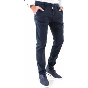 textil Hombre Pantalones chinos Antony Morato MMTR00378 FA800077 Azul