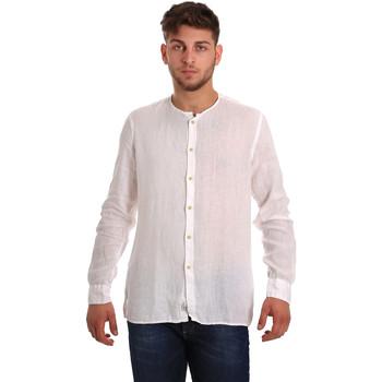textil Hombre Camisas manga larga Gaudi 811BU45022 Blanco