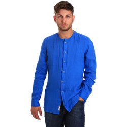 textil Hombre Camisas manga larga Gaudi 811BU45022 Azul