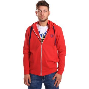 textil Hombre Sudaderas Gaudi 811BU64067 Rojo