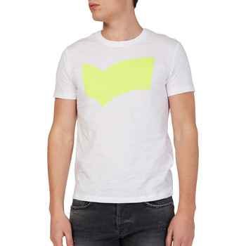 textil Hombre Camisetas manga corta Gas 542973 Blanco
