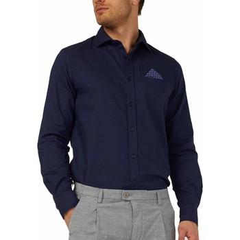 textil Hombre Camisas manga larga Gas 151131 Azul