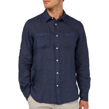 textil Hombre Camisas manga larga Gas 151150 Azul