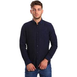 textil Hombre Camisas manga larga Gas 151200 Azul