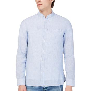textil Hombre Camisas manga larga Gas 151228 Azul