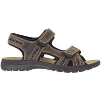 Zapatos Hombre Sandalias de deporte Enval 1213922 Beige